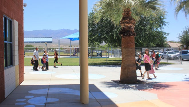 Virgin Valley Elementary School students celebrated their last day of school on Tuesday.