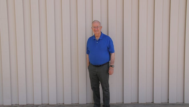 Bart Montgomery, 81, is the founder of the chaplain program at the Alamogordo Police Department. APD's chaplain program helps victims of crime who need support.