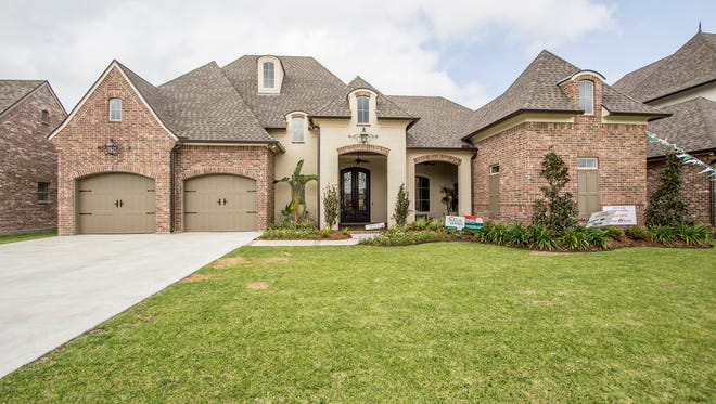 This 5 bedroom, 3 bath home located at 108 Genna Lane in Youngsville has 3,840 sq ft of living area and is listed at $824,900.