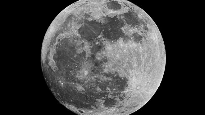"""As the moon passes into """"full"""" over the next four nights, it crosses very close indeed."""