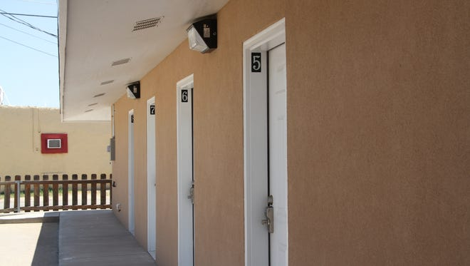 The Carlsbad Transitional Housing and Homeless Shelter will have an open house for the new emergency shelter on Friday. There are eight units for people in the community are need of a place to stay.
