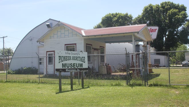 Pioneer Heritage Museum and Resource Library is one of the sites along the Iowa Valley Scenic Byway.
