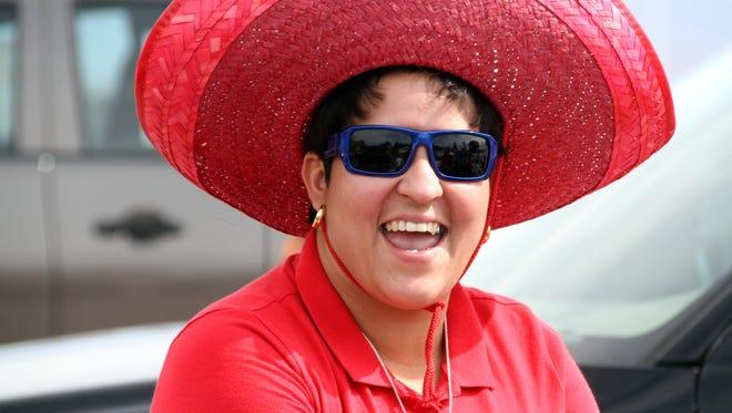 Yvette Tarango is an annual  fixture at the St. Ann Fiesta.