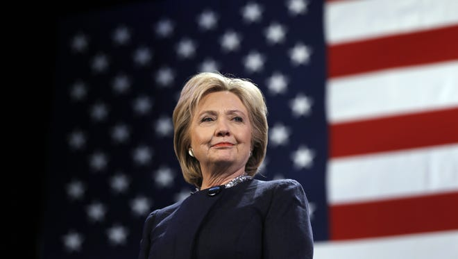Hillary Clinton Democratic presidential candidate Hillary Clinton is introduced during a campaign stop Friday, Jan. 22, 2016, in Rochester, N.H. (AP Photo/Matt Rourke)
