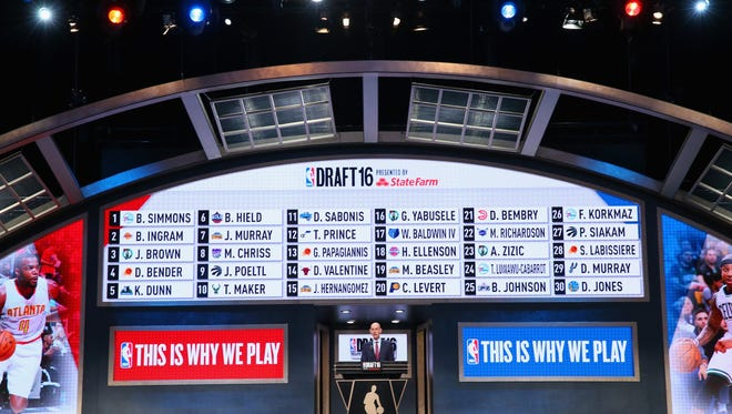 Commissioner Adam Silver concludes the first round of the 2016 NBA Draft.
