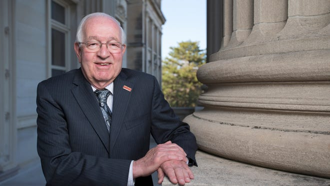 Senior Vice President for Business and Finance Warren Madden is retiring after 50 years at Iowa State University.