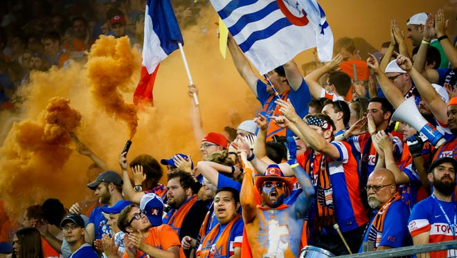 More than 30,000 people attended the friendly match between Premier League's Crystal Palace FC and FC Cincinnati Saturday, July 16, 2016 at Nippert Stadium. Crystal Palace FC won 2-0.