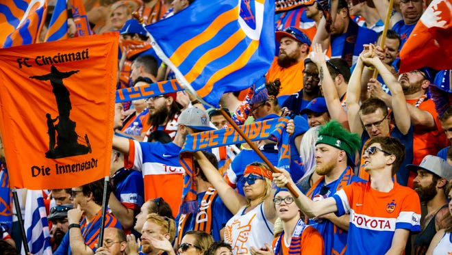 More than 30,000 people attended the friendly match between Premier League's Crystal Palace FC and FC Cincinnati on July 16 at Nippert Stadium. Crystal Palace won 2-0.