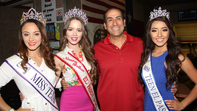 Vanessa Pacheco, from left, Kathryn Guinn, Larry Guerra and Alicia Romero