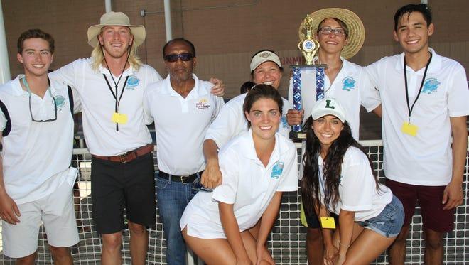 Victor Baca, from left, Truman Word, Wright Stanton, Joy Conquistadors, Nicole Gonzalez, Maya Ruiz Estevan Mata and Edel Mauricio Santiesteban