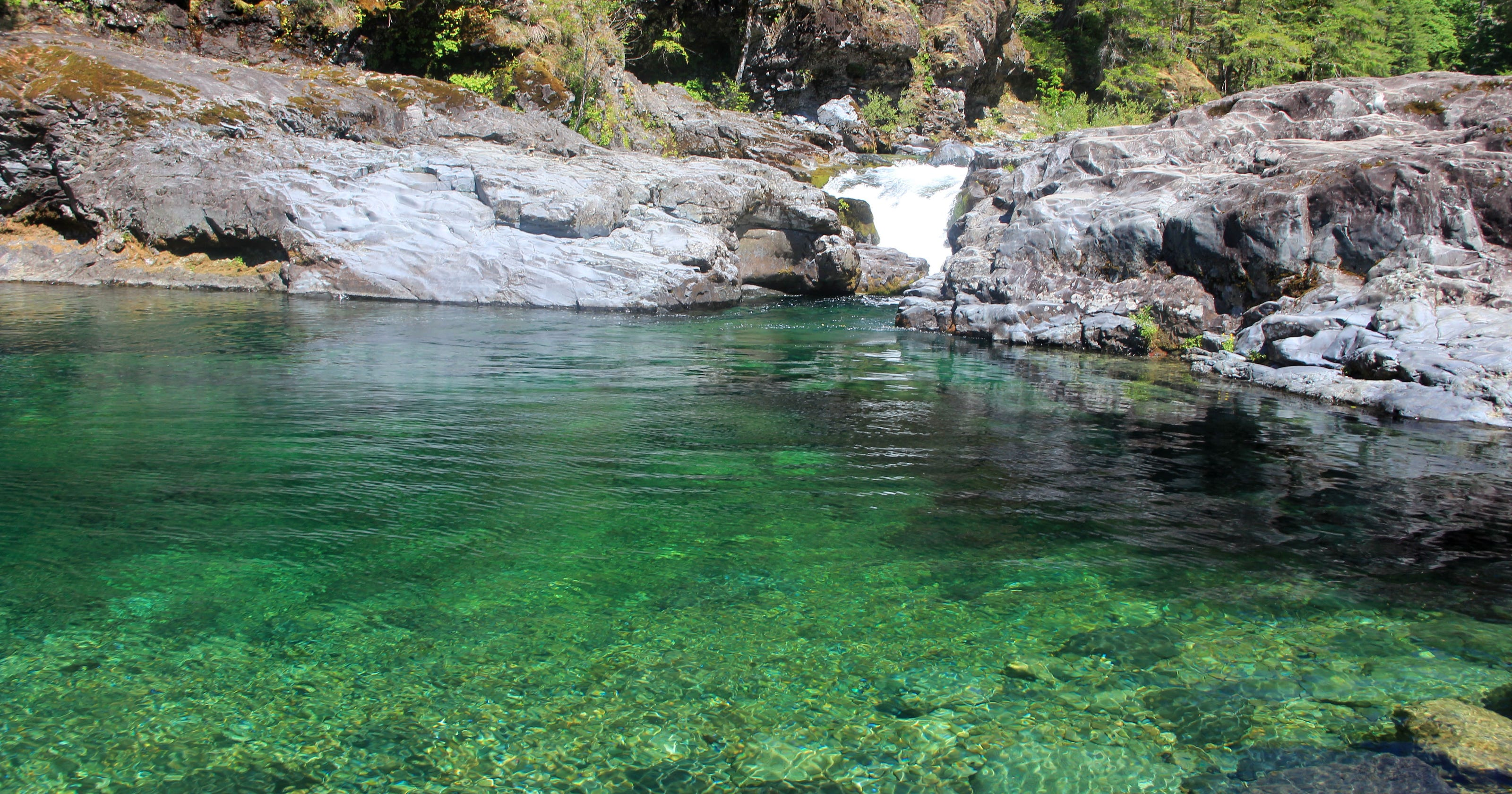 Hike To Hidden Swimming Holes On Little North Santiam