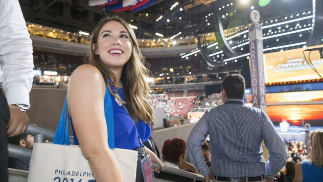 Dreamer Belen Sisa, from Gilbert, was born in Argentina. The 22-year-old is a page for the Arizona delegation at the Democratic National Convention in Philadelphia.