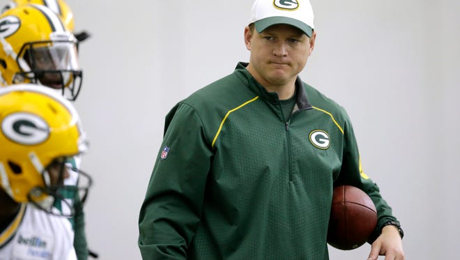 Packers receivers coach Luke Getsy is expected to join the staff at MSU.