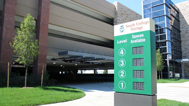 CSU has opened a new, 650-space parking garage at Pitkin and Mason streets on Aug. 1 after nearly a year of construction.
