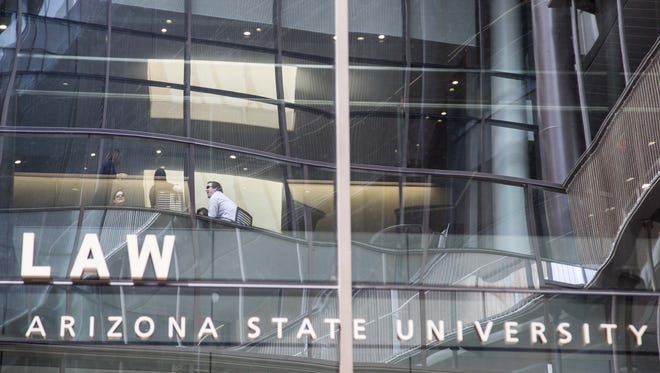 The new home of the Sandra Day O'Connor College of Law at Arizona State University in downtown Phoenix.