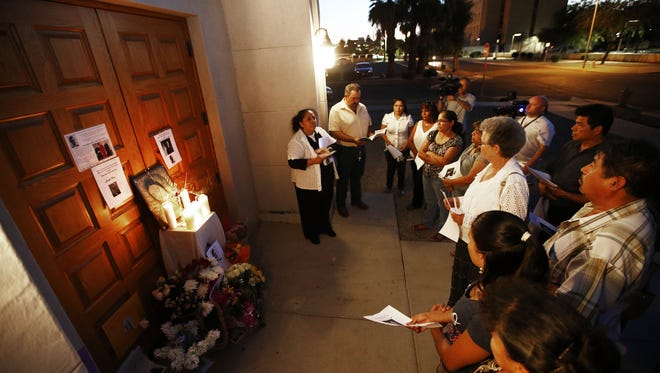 The Arizona Court of Appeals on Aug. 11, 2016, overturned a lower court ruling that an Arizona Republic editor had to turn over his notes of an interview with a witness to a murder. The incident involved the killing of one priest and wounding of  another at Mater Misericordiae (Mother of Mercy) Mission on June 11, 2014.