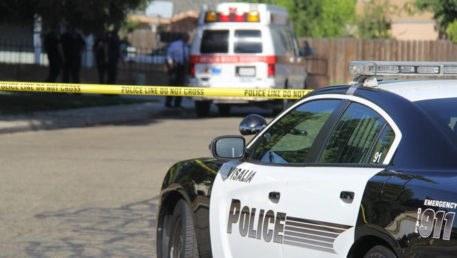 One man is dead and two injured after a shooting in Visalia. FILE PHOTO