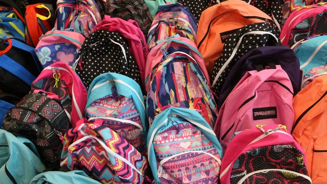 Backpacks and other school supplies will be available for purchase at the City of Tallahassee's Back-to-School Jamboree.
