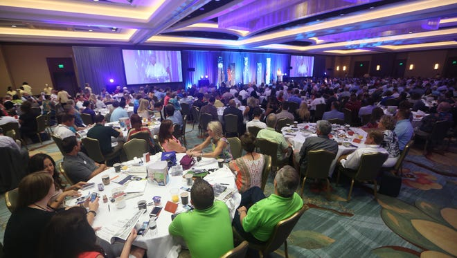 The Greater Tallahassee Chamber of Commerce Annual Conference at the Ritz-Carlton at Amelia Island Saturday.