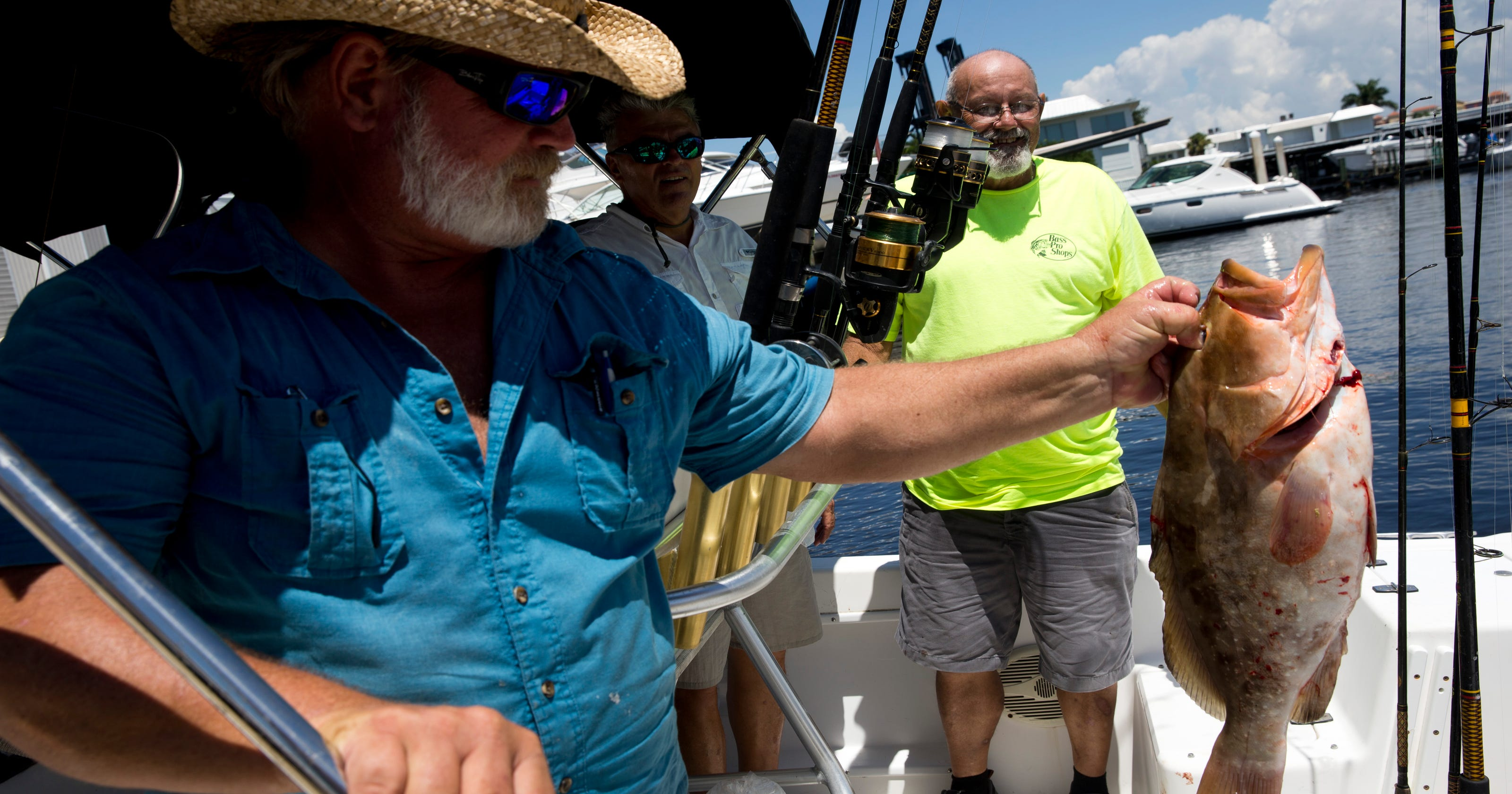 Reel fun: Vets fish, form bonds at Freedom Waters event