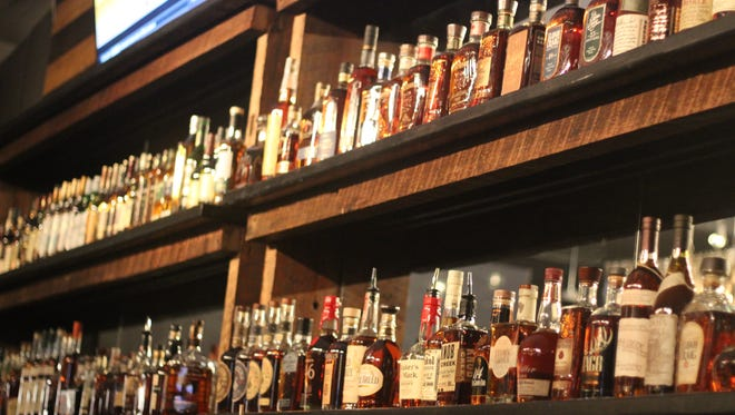 The MSL Whiskey House features over 150 different types of whiskeys.