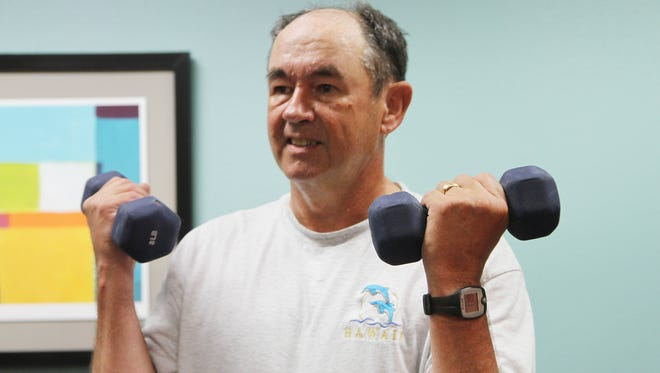 John Cobbs, a bus driver for Poudre School District, decided to take advantage of the district's integrated health plan through UCHealth, which includes health classes and access to lifestyle, diet and fitness coaches. He's now on the path to fitness and attends several different classes a week.