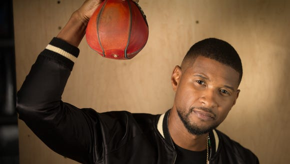 Usher is ready to rumble.