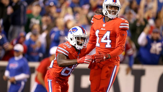 Sammy Watkins is questionable for the Cardinals game.