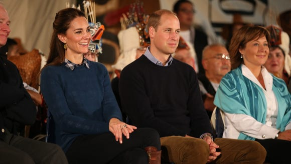 Will and Kate attend an official welcome performance