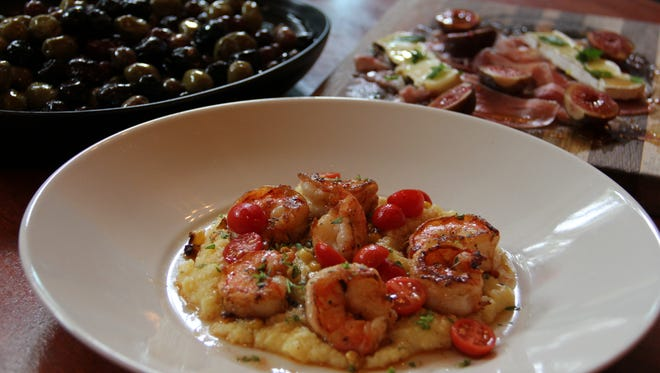 A selection of tapas inspired by various countries are available at Andaluz.