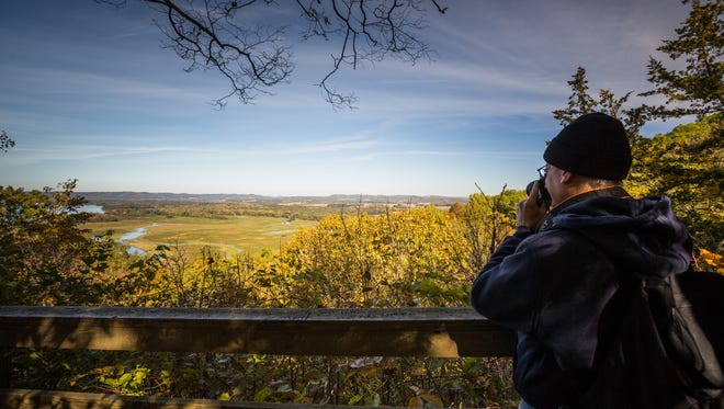 Photo opportunities abound at Perrot State Park near Trempealeau.
