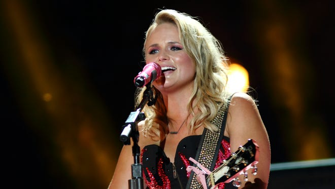 Miranda Lambert will perform in Evansville in January to kick off her new headlining tour.
