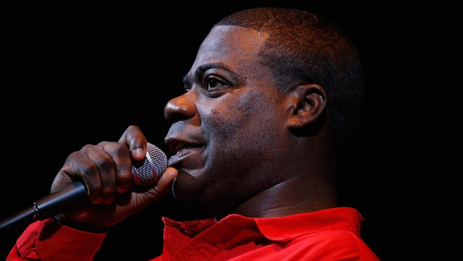 Tracy Morgan performs April 1 in New York City. No photography was allowed at his Dover show Friday night.