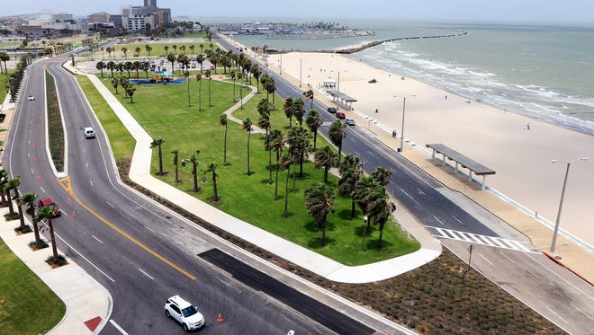 A view of Bayshore Park Wednesday July, 8, 2015, in Corpus Christi.