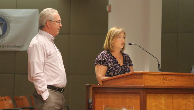 Sam and Laura Rogers, who lost their 23-year-old son Brooks Rogers in a 2011 drunk driving accident, expressed their support of a city ordinance that would place time restrictions on city parking enforcement. Laura Rogers said all night towing could force people to drive home drunk to avoid being towed or getting a ticket.