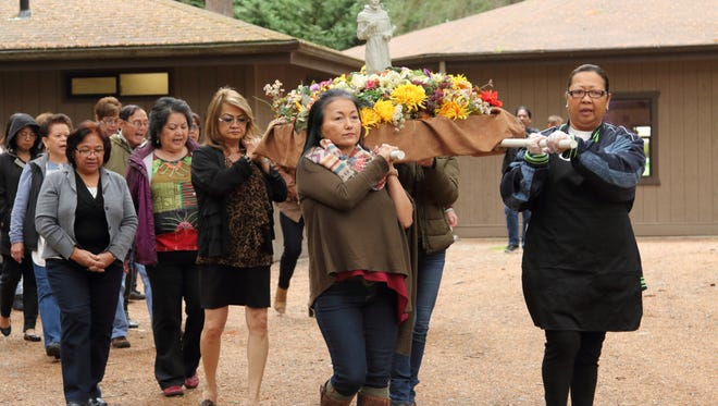 The Yona Community of Washington State honors St. Francis of Assisi with a procession and fiesta.