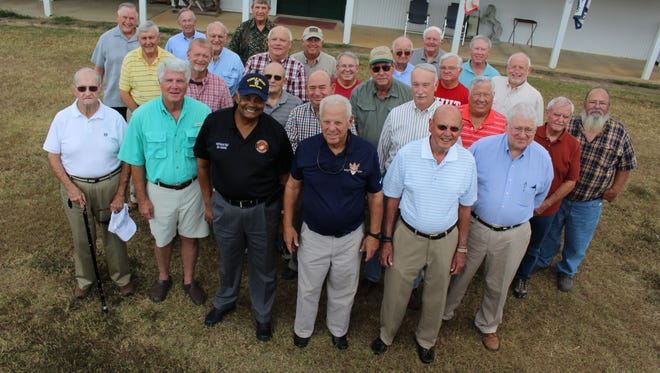 """A large group of Alabama National Guard veterans met to chat about """"old times"""" during a reunion in rural Dallas County Thursday afternoon."""