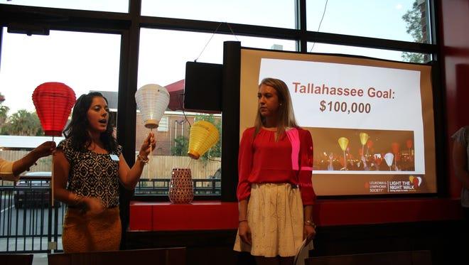 Light the Night raises money for the Leukemia and Lymphoma Society.
