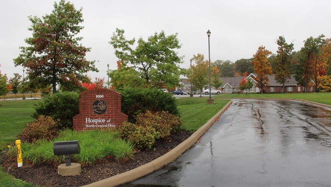 Hospice of North Central Ohio is suspending inpatient services at its Hospice House in Ashland, pictured here on Thursday, Oct. 20, 2016. Employees at the facility were also laid off, but executive director Bill Kahl declined to say how many.