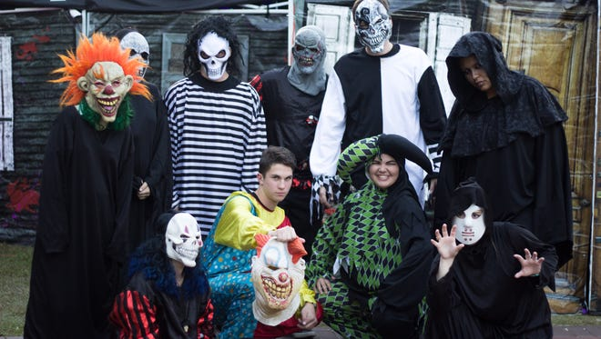 Florda State University's Haunted Harvest brought spooky, Halloween-themed festivities to Oglesby Union on October 28, 2016.