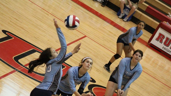 The Airline volleyball team is one of four area squads in the LHSAA state playoffs.
