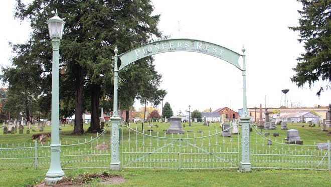 Plymouth's Pioneer's Rest Cemetery is no longer active, but the village has to maintain it, including mowing and trying to repair broken headstones.