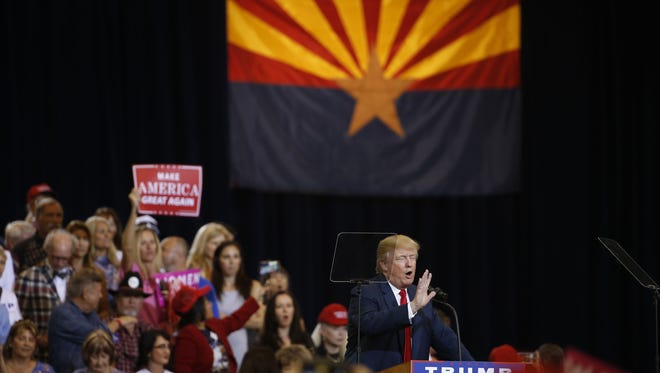 Arizonans might feel the impact of Donald Trump's presidential victory as it affects their pocketbooks in relation to trade, taxes and interest rates.