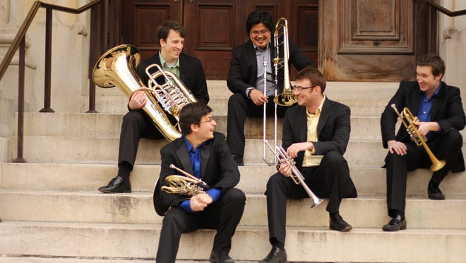 The Marquee Brass will perform at 7:30 p.m. Saturday at the University of Texas at El Paso's Union Cinema.