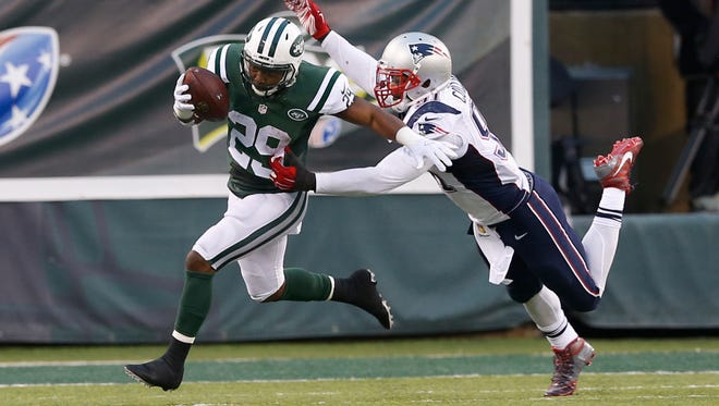 Bilal Powell and the run game will be key if the Jets hope to upset the Patriots on Sunday.