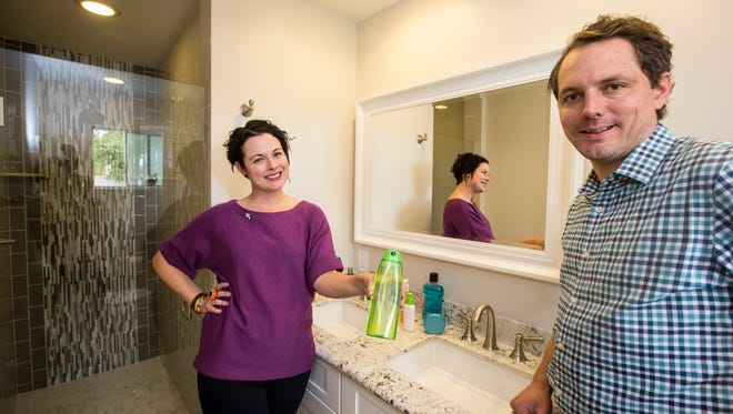 Brother and sister Joe Doucett and Jenna Rutschman started The Bathroom Sink, an online bathroom concierge service that automatically replenishes clients' beauty and hygiene supplies based on their preferences and usage rates.