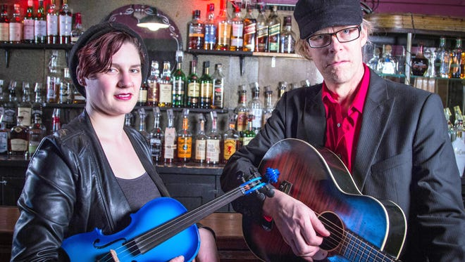 Sarah Blick and Charlie Cheney of Sugar Still will play at 7:30 p.m. on Friday, Dec. 2 at Little Toad Creek Brewery and Distillery.