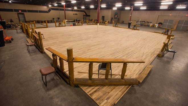 Touch of Texas will feature a 2,400 square-foot oak dance floor.
