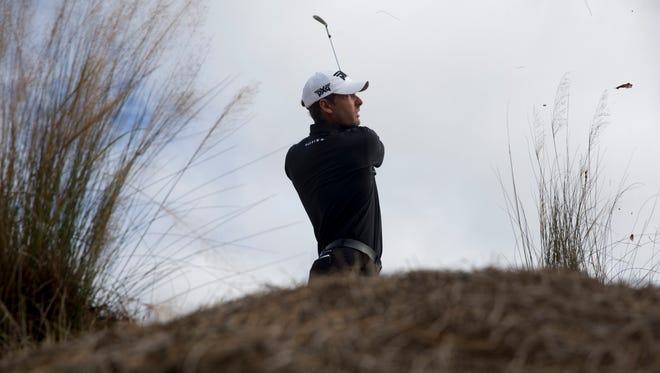 Billy Horschel during the final round of the Franklin Templeton Shootout at Tibur—n Golf Club at The Ritz-Carlton Golf Resort Saturday, Dec. 10, 2016 in Naples.