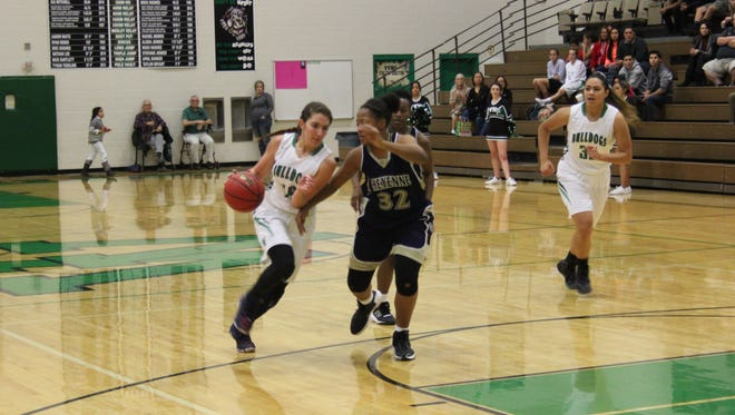 Briana Todd leads Virgin Valley in scoring and is second on the ream in rebounding.
